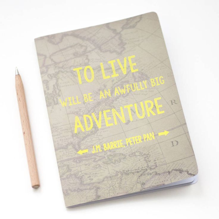 Big Adventure Notebook – Little Pieces