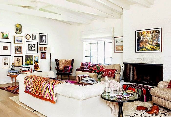 DECORACION ETNICA LLENA DE COLOR | Decorar tu casa es facilisimo.com