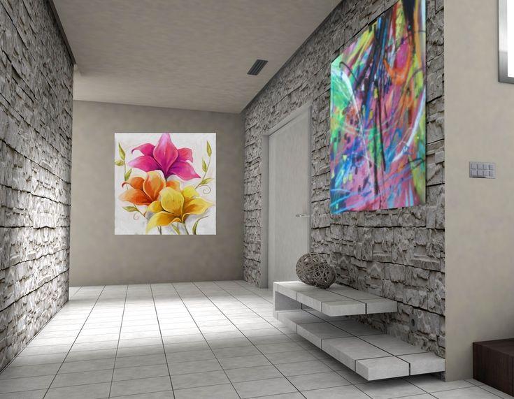 Las 25 mejores ideas sobre muebles pintados modernos en for Cuadros de salon