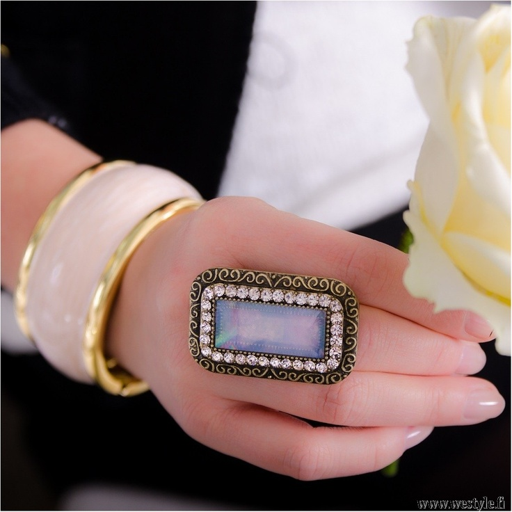 Classy new ring and bracelet at We Style - www.westyle.fi