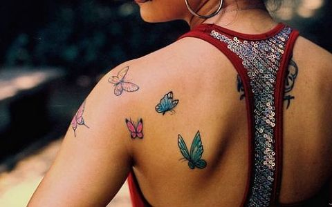 #tattoo butterfly