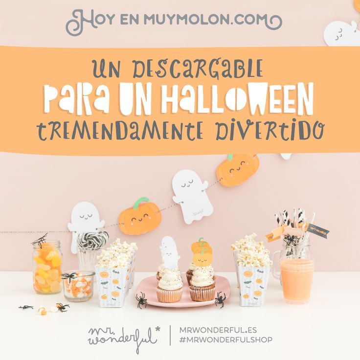 Decoración halloween de Mr. Wonderful