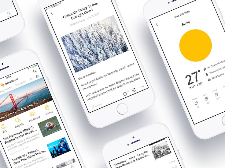 Bendinews - Branding & App Redesign by oreomar