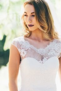 Pascale- classic style with vintage lace