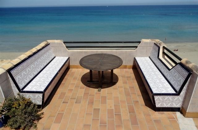 3 Bedroom Penthouse in La Manga Del Mar Menor to rent from £500 pw. With Solarium, balcony/terrace, air con, TV and DVD.