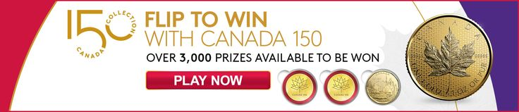 The @CanadianMint is giving away $18,000 in coins! Play now for a chance to win. #FlipToWinCanada150 https://www.mint150.ca/ref/t/b9be22418