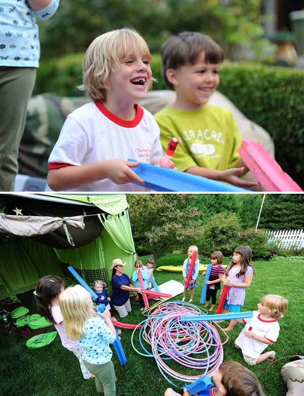 camping party - Oh I think I just decided on the boys birthday party theme for 2014