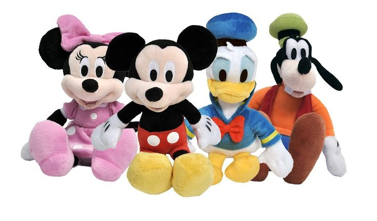 """Disney Mickey Mouse Clubhouse 11"""" Plush Dolls"""