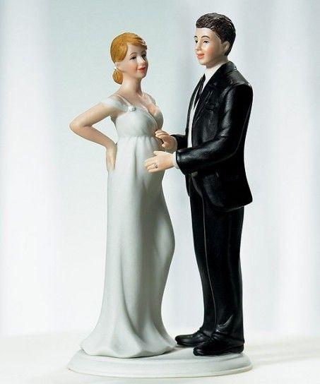 #love #wedding #cake #topper #cute #kiss #matrimonio #bacio #torta #fun #divertente #pregnant #incinta