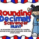 This is a fun and self-checking way for students to practice rounding decimals to the nearest hundredth, tenth, and whole number. You can have your...