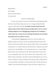 The Bean Trees Essays - The best expert's estimate