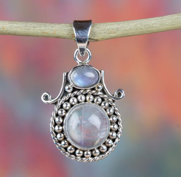 Moonstone Jewellery – Moonstone Pendant, 925 Silver Pendant, Bridal Gift – a unique product by Midas-Jewelry on DaWanda