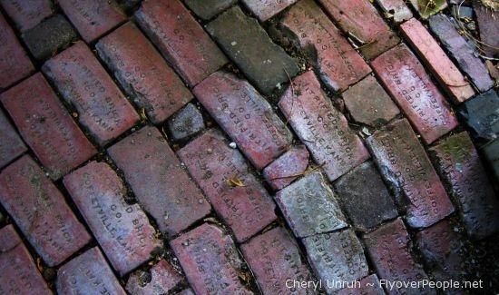 Any Bricks, but especially those from Coffeyville Kansas.