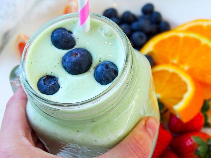 Anti-oppblåst-smoothie! Må prøves! :P