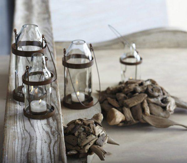 Bastelideen für DIY Projekte aus Weinflaschen rustikal