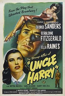The Strange Affair of Uncle Harry (1945)--starring George Sanders as an aging bachelor who looks after his two sisters, one of whom tries to sabotage his romance with his co-worker.