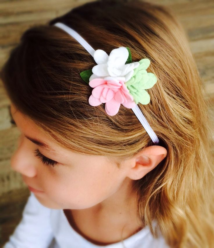 Lovely ruffle bloom trio on a girls non-slip headband https://butterflygardenforkids.com.au/collections/clothing-to-love/products/lilly-headband