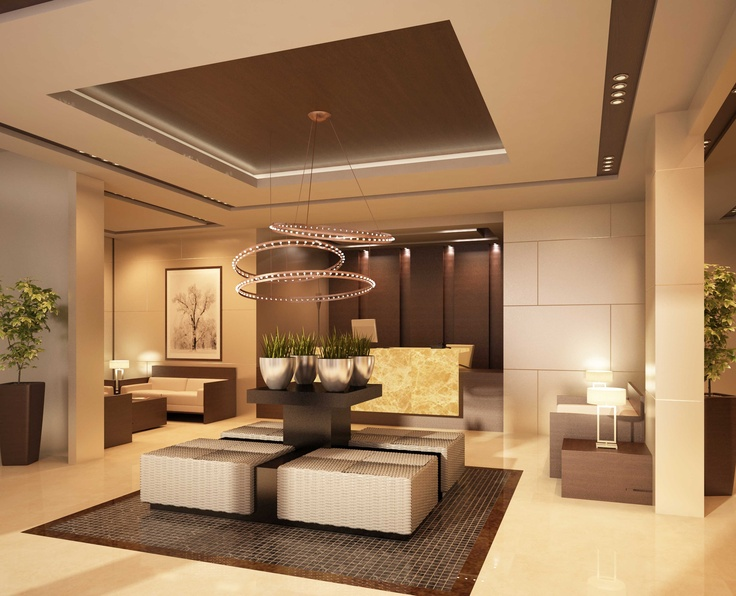 Reception area to office building cairo egypt eng m for Interior design egypt