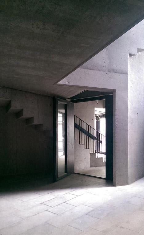 Cast Concrete Galway Picture Palace By DePaor Architects Stands Behind A  Georgian Terrace Awesome Design