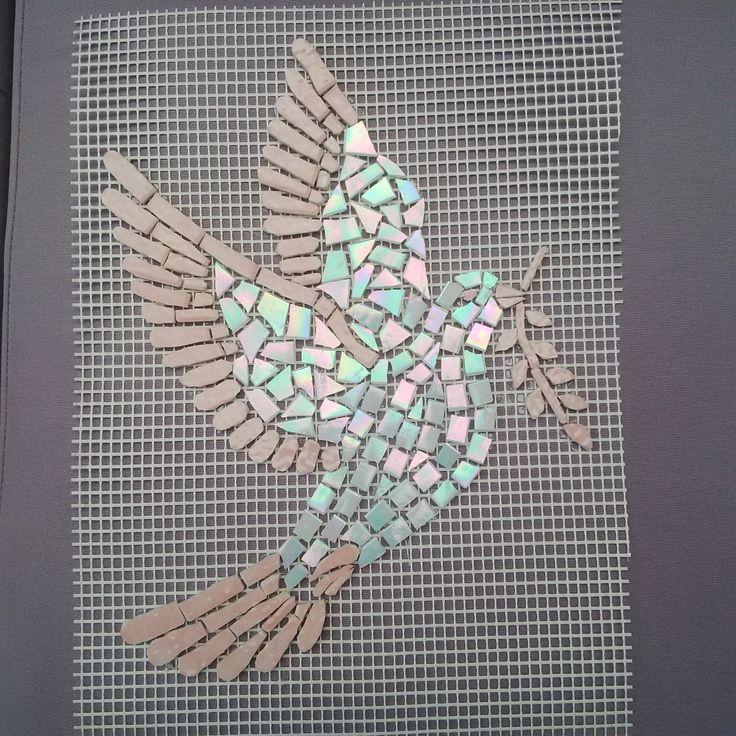 Les 25 meilleures id es de la cat gorie table mosaique sur - Mosaique de verre autocollante ...