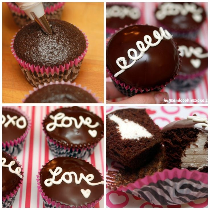 Hostess cupcakes made at home! Only difference? They are even more dlicious than Hostess and the cream filling? OH MY!!!!  You'll Need: Cupcake Pan Cute Cupcake Liners For the CUPCAKES-24 cupcakes, line 2 muffin tins with cupcake wrappers. 2 cups sugar 1 3/4 cups all-purpose flour 3/4 cups cocoa powder 2 teaspoons baking soda …