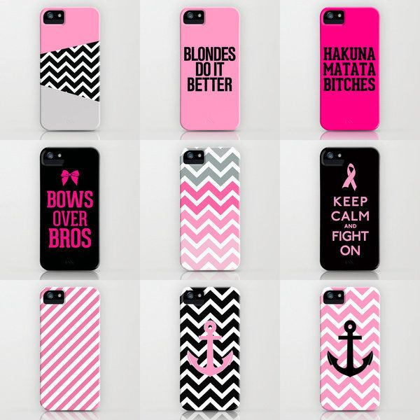 Pink iPhone Cases by RexLambo ($35)