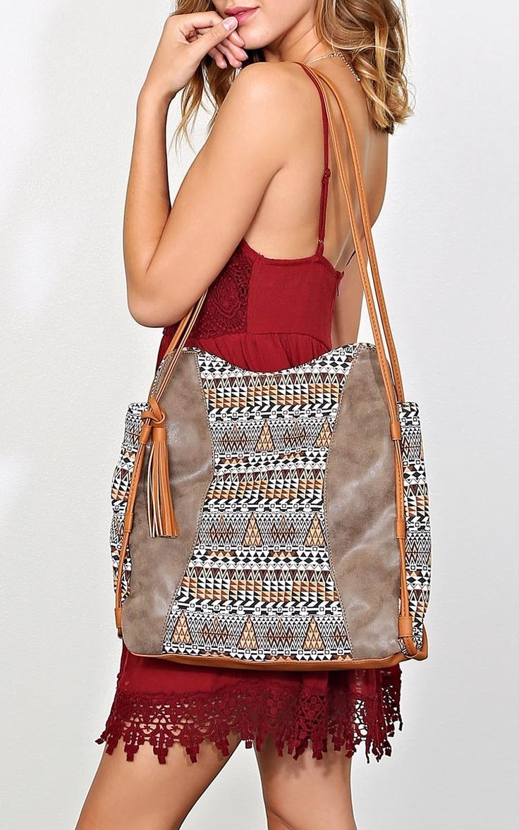 Avery Aztec Tote Bag - Bags + Wallets - Accessories - Shop