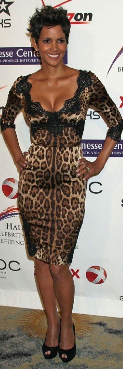 Halle Berry - Animal print                                                                                                                                                      More