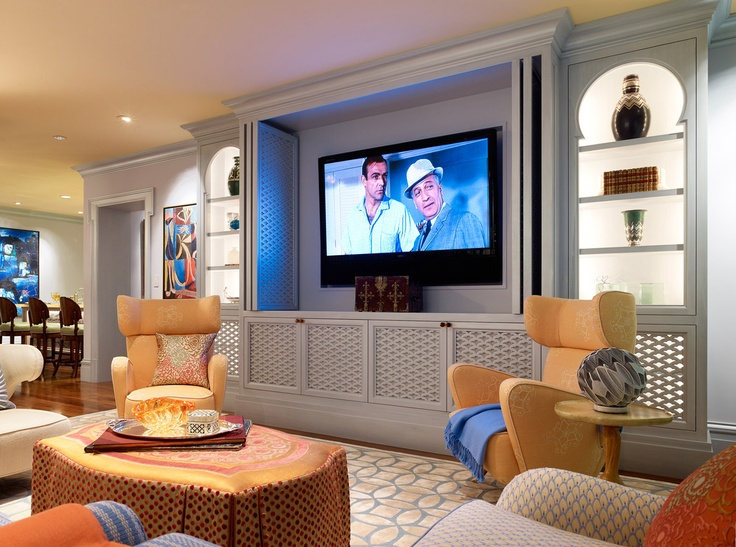 Family Room In A Home San Francisco Designed By Jeffers Design Group