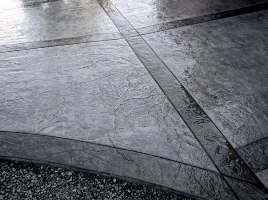 stamped concrete i