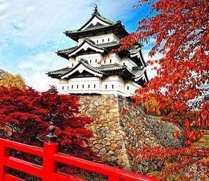 Hirosaki Castle, central Hirosaki, Aomori Prefecture, Japan