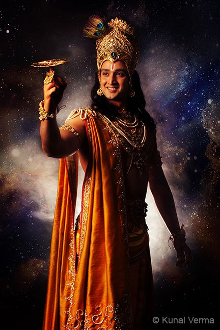 Krishna Captured By Kunal For The Serial Mahabharata For Star The