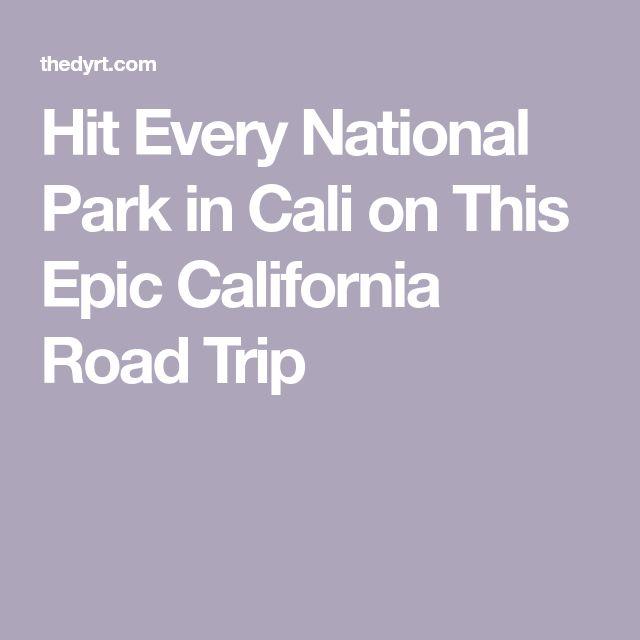 Conheça todos os parques nacionais da Califórnia nesta viagem épica   – retirement trip