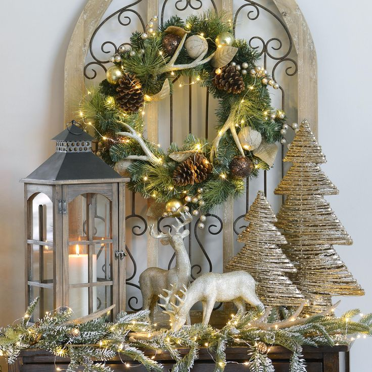 With shimmering shades of gold, champagne, and bronze, the Majestic Metallics Collection at Kirkland's is all about that regal, magical look for Christmas.