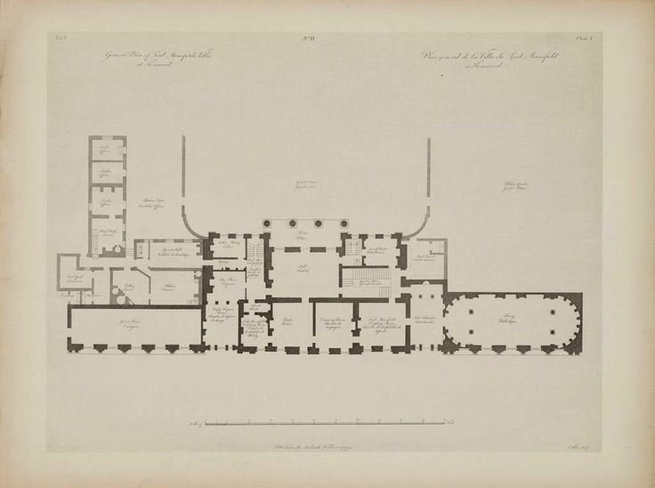 Kenwood House Ground Floor Plan Kenwood House