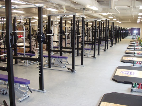 The Weight Room In The AARC Tommieland Pinterest Work - Weight room design