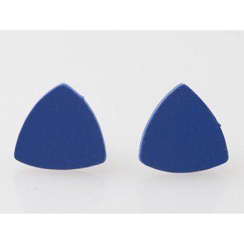 Azul... para ti! http://www.tutunca.es/pendientes-triangulo-azul-demiim-coleccion-clara