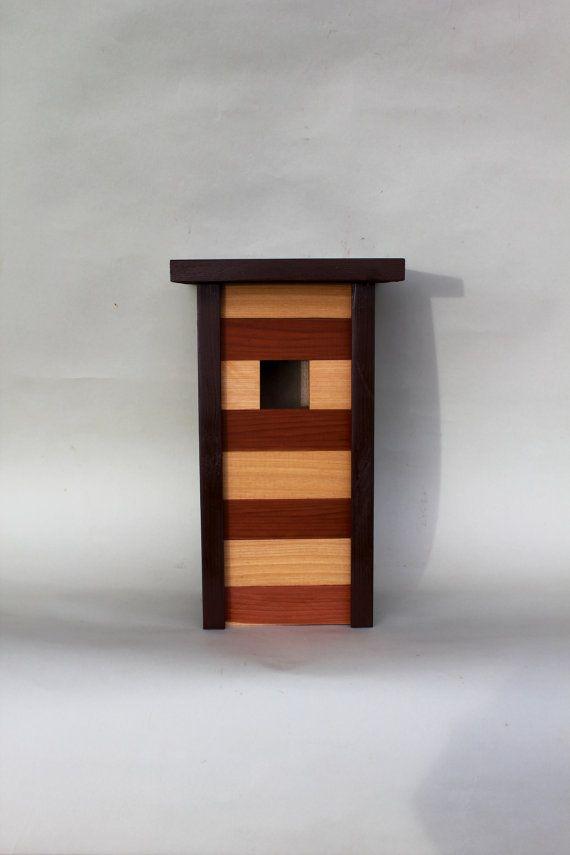 One Bedroom Kitchenette / Contemporary  Birdhouse Cyprus & Cedar via Etsy