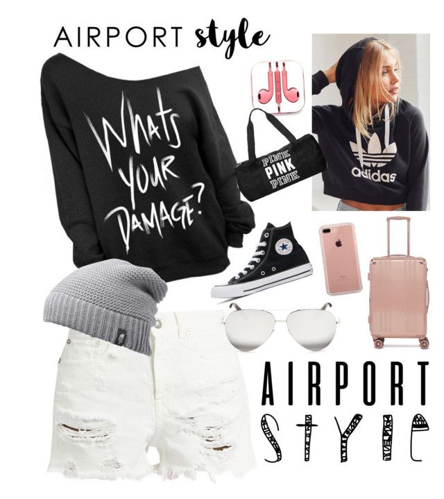 Savage by bubblegum13fuschia on Polyvore featuring polyvore, fashion, style, adidas, R13, Converse, CalPak, The North Face, Victoria Beckham, Belkin, PhunkeeTree, Victoria's Secret and clothing