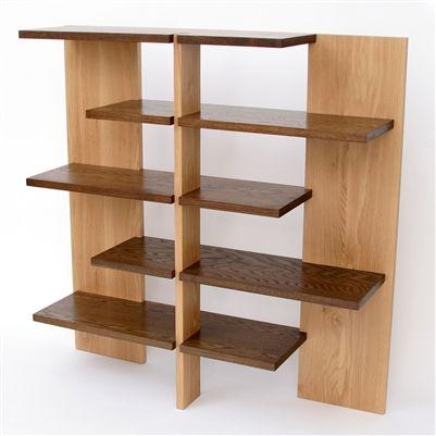 Josef Albers's White Oak Bookshelf: Remodelista
