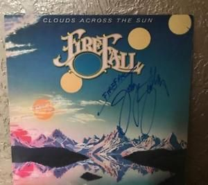 Firefall Jock Bartley Clouds Across The Sun Signed Vinyl Record for sale