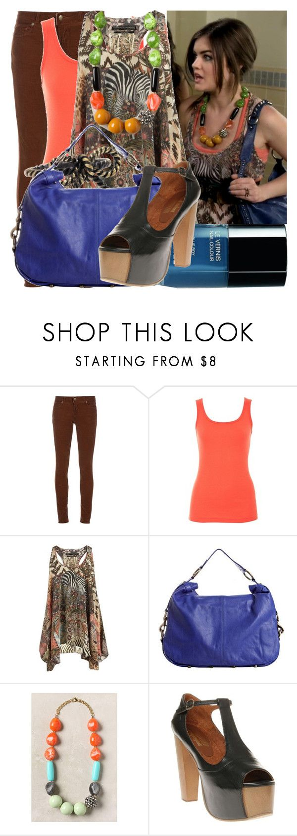 """aria - blood is the new black"" by cla-90 ❤ liked on Polyvore featuring Paige Denim, A