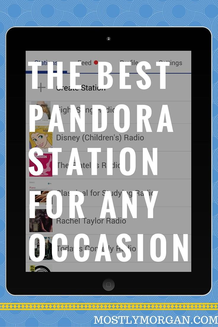 Calling all music lovers! Want recommendations for great new Pandora stations? Look no further!