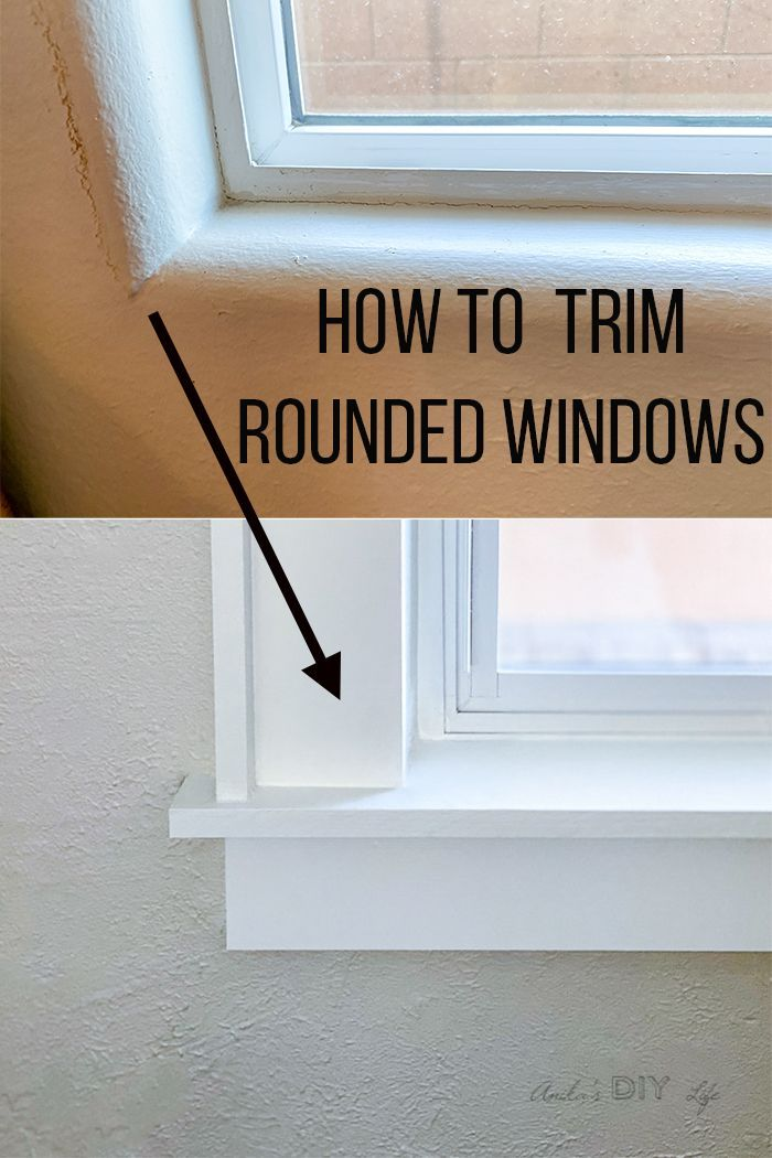 How To Trim A Window With Bullnose Corners In 2020 Window Trim Styles Diy Renovation Diy Home Decor Projects