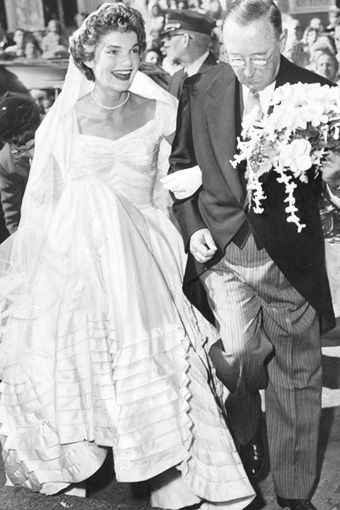 166 best kennedy wedding images on pinterest jackie kennedy jacqueline bouvier and her stepfather hugh auchincloss celebrity wedding dressescelebrity junglespirit Image collections