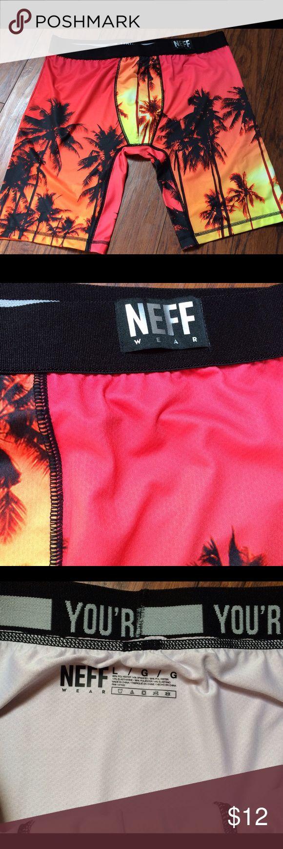 Neff Kevin Durant Tropical Boxers  Underwear Neff Kevin Durant Boxer Underwear size large. Tropical sunset pattern Neff Underwear & Socks Boxers
