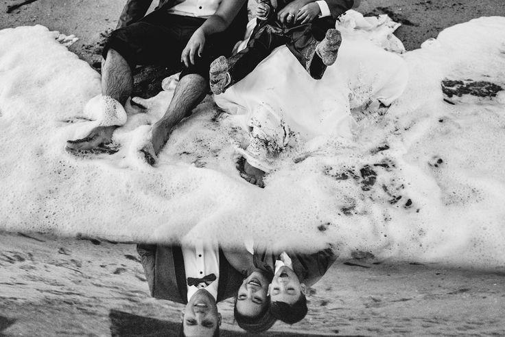 #noviosfelices #novio #novia #Wedding #trashthedress #matrimonio #postboda #playa #salu2rec