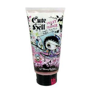 Cute As Hell Violet + Quince Body Wash 8.5oz by Blue Q. $16.00. 8.5 FL. Oz Tube. Algae extract and aloe vera.. Blue Q Cute As hell Body Wash. Gobs of bubbles with moisture-packed beads. Great Gift for Family or Friends. Gobs of bubbles with moisture-packed beads, plus algae extract and aloe vera.
