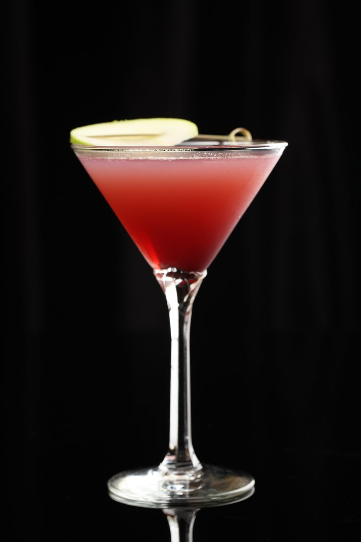 Autumn Apple: Lucid Absinthe, apple cider, cranberry juice, ginger ale, and Chambord Raspberry Liqueur