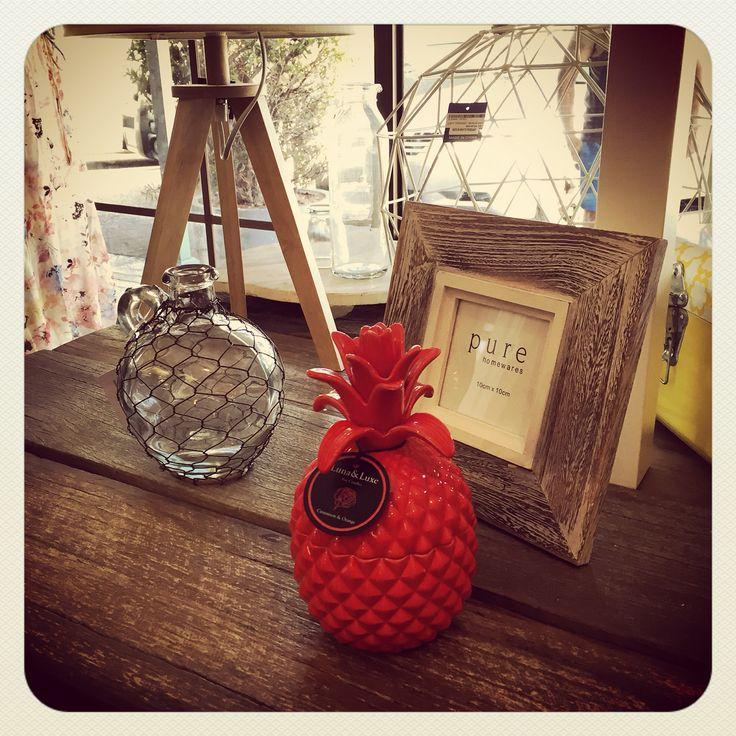 Luna & Luxe Orange & Cinnamon candle! These are amazing!